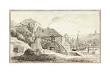 Ford Mill Giclee Print by Coplestone Warre Bampfylde