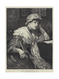 Her Considering Cap Giclee Print by Edward Frederick Brewtnall