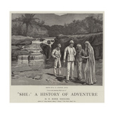 She, a History of Adventure Giclee Print by Edward Killingworth Johnson