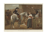 The Bailiff's Daughter Giclee Print by Edward Killingworth Johnson