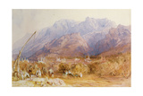 A North African Scene Giclee Print by David Roberts