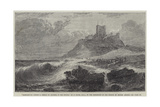 Bamborough Castle, a Signal of Distress in the Offing Giclee Print by Edwin Hayes