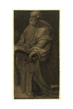 St. Peter, Between 1500 and 1552 Giclée-tryk af Domenico Beccafumi