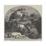 Retribution Giclee Print by Edward Armitage