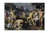 The Massacre of the Innocents, 1590 Giclee Print by Cornelis Cornelisz. van Haarlem