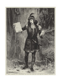 Mrs Langtry as Rosalind in As You Like It at the St James's Theatre Giclee Print by Edward Frederick Brewtnall