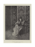 Fanny Bunter, a Character in New Men and Old Acres Giclee Print by Edward John Gregory