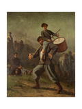 Wounded Drummer Boy, 1865-69 Giclee Print by Eastman Johnson