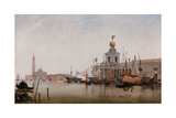 The Dogana Di Mare with San Giorgio Maggiore Beyond, 1863 Giclee Print by Edward William Cooke