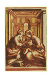 The Marriage of St. Catherine Giclee Print by  Correggio