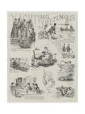 Yachting Jottings Giclee Print by Edward Morant Cox