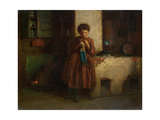 Knitting for the Soldiers, 1861 Giclee Print by Eastman Johnson