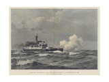 A Battleship of 1893 Giclee Print by Eduardo de Martino