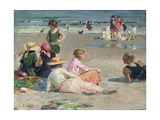 Manhattan Beach Giclee Print by Edward Henry Potthast