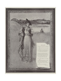 Dear Lady Giclee Print by Davidson Knowles