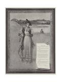 Dear Lady Giclee Print by Davidson Knowles