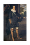 Portrait of James, 2nd Marquess of Hamilton (1589-1625) Lámina giclée por Daniel Mytens