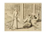 Pippa Passes, 1854 Giclee Print by Elizabeth Eleanor Siddal