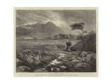 A Land-Storm Giclee Print by Ernest Albert Waterlow