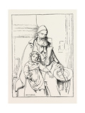 The Blind Beggar Giclee Print by Edwin Bale