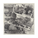 The Baths and Casino of Contrexeville Giclee Print by Ernest Henry Griset