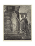 Sunday Morning in Old Virginia Giclee Print by Edwin Austin Abbey