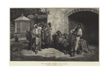 The Marabout (Sacred) Lion, Algiers Giclee Print by Eugene Pavy