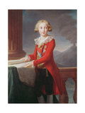 Portrait of Francis I of the Two Sicilies Giclee Print by Elisabeth Louise Vigee-LeBrun
