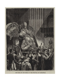 The Pope on the Sedia at the Festival of Candlemas Giclee Print by Emile Theodore Therond