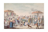 Fair During the Period of the French Revolution, C.1789 Giclee Print by Etienne Bericourt