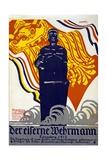 Der Eiserner Wehrmann, Königsberg 1915, 1915 Giclee Print by Erich Wohlfahrt