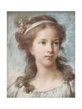 Portrait de jeune fille Impression giclée par Elisabeth Louise Vigee-LeBrun