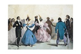 Soiree of the Great World Giclee Print by Eugene Louis Lami