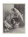 The Eviction of Diogenes Giclee Print by Fannie Moody