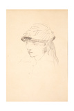 Young Girl in Round Hat, 1878-79 Giclee Print by Edouard Manet