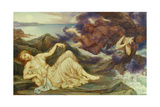 Port after Stormy Seas, 1905 Giclee Print by Evelyn De Morgan