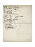 Folder of Poetry Giclee Print by Elizabeth Eleanor Siddal
