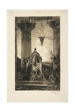 King David, 1883 Giclee Print by Felix Bracquemond
