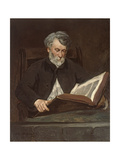 The Reader, 1861 Giclee Print by Edouard Manet