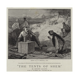 The Tents of Shem Giclee Print by Edward Frederick Brewtnall