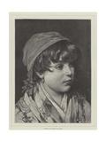 Bianca Giclee Print by Eugen Von Blaas