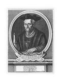 Portrait of François Rabelais Giclee Print by Etienne Jehandier Desrochers