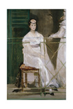 Portrait of Mademoiselle Claus, 1868 Giclee Print by Edouard Manet