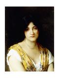 A Mediterranean Beauty Giclee Print by Eugen Von Blaas