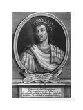 Portrait of Savinien De Cyrano De Bergerac Giclee Print by Etienne Jehandier Desrochers