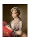 The Grand Duchess Elizabeth Alexeievna Giclee Print by Elisabeth Louise Vigee-LeBrun