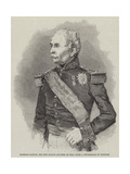 Marshal Randon, the New French Minister of War Giclee Print by Edmond Morin