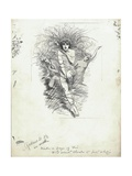 Fairy Queen from 'The Water-Babies' by Charles Kingsley Giclee Print by Edward Linley Sambourne