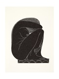On the Tiles, 1921 Giclee Print by Eric Gill