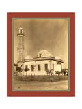 Sidi Bel Abbes Mosque, Algiers Giclée-tryk af Etienne & Louis Antonin Neurdein